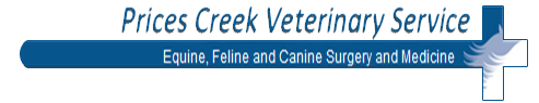 Prices Creek Veterinary Service